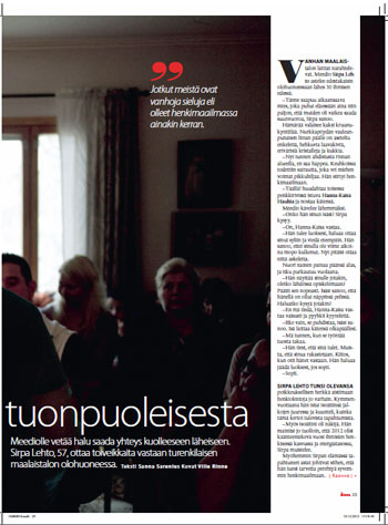 freelance toimittaja avoimet työpaikat Mantta-Vilppula